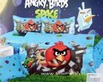 Сатин детский Angry Birds 1