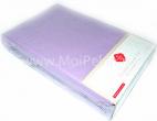 Простыня натяжная (на резинке) - Простыня на резинке полутораспальная Cotton box. В комплекте 2 наволочки. Цвет сиреневый.