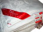 Шелковое одеяло - MIAOQI с наполнением из 100% шелка малберри (высший сорт) Размер 200*230 ЗИМА. Вес 3,3кг. Цвет белый. Чехол бамбук.