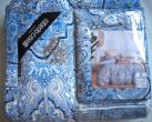 КПБ с одеялом Robert0 Cavalli - Красивый комплект постельного белья с одеялом Robert0 Cavalli ЕВРО размер 100% хлопок