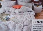 КПБ с одеялом KENZ0 - Красивый комплект постельного белья с одеялом KENZ0 ЕВРО размер 100% хлопок